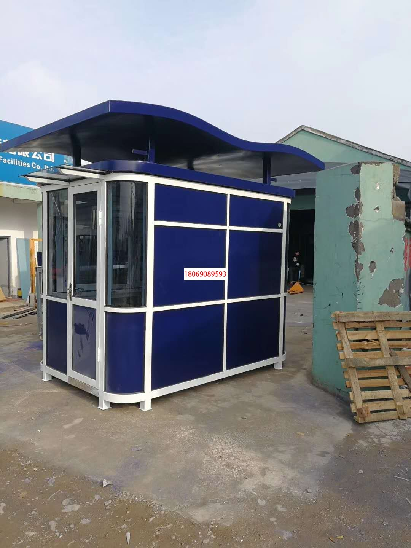制作钢结构岗亭氟碳喷漆岗亭的方法和工艺流程